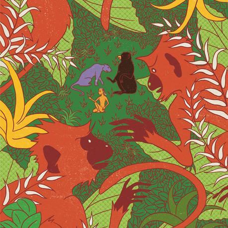 Le livre de la jungle de Rudyard Kipling et MinaLima
