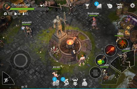 Télécharger Valhalla: Action RPG APK MOD (Astuce) screenshots 5