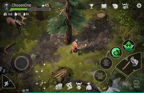 Télécharger Valhalla: Action RPG APK MOD (Astuce) screenshots 1