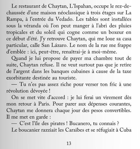 746_ « La peau des nuits cubaines » de Salim Bachi