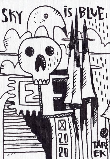 Dessins de la série Skull