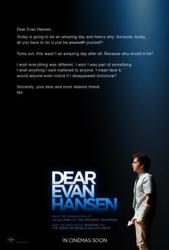 CINEMA : «Dear Evan Hansen» de Stephen Chbosky