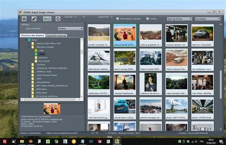 Rapid Image Viewer - pour visualiser images, vidéos et PDF
