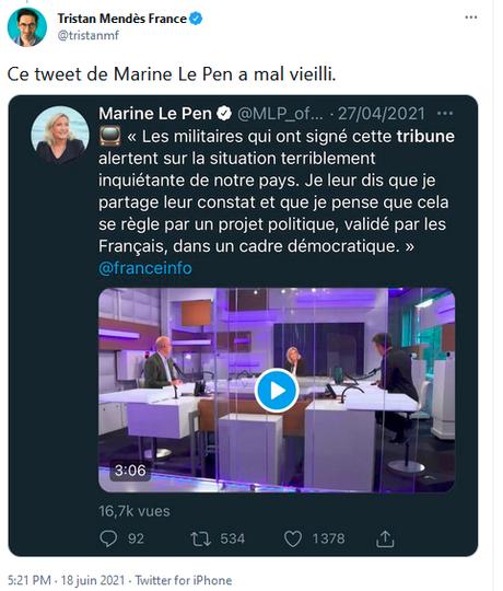 Le général Delawarde, au centre du continuum idéologique de @valeurs,  @cnews et du @RNational_off #antisémitisme