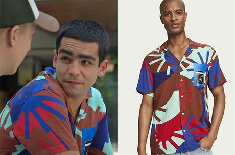 ELITE : Short stories – Omar Ander Alexis : Omar's multi-colored shirt