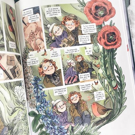 Bande dessinée : 🌷 Le jardin secret – Première partie 🌷