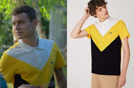 ELITE : Short stories – Omar Ander Alexis : Ander's color block polo shirt