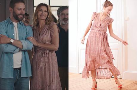 DEMAIN NOUS APPARTIENT : la robe rose de Chloé dans l'épisode 952