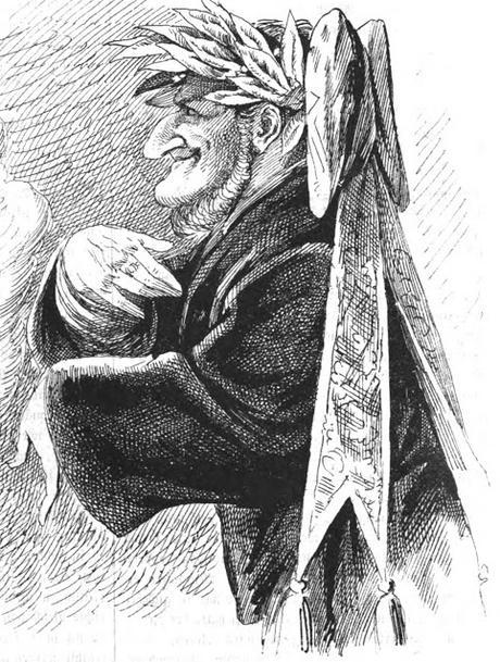 Bayreuth 1876 in der Karikatur /dans la caricature (1) — Beethoven bei /chez Richard Wagner