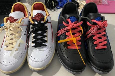 Jordan et Off White teasent deux nouvelles paires