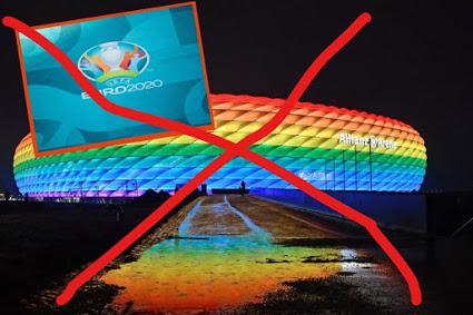 L'UEFA interdit l'illumination du stade de Munich aux couleurs arc-en-ciel pour le match Allemagne-Hongrie du 23 juin