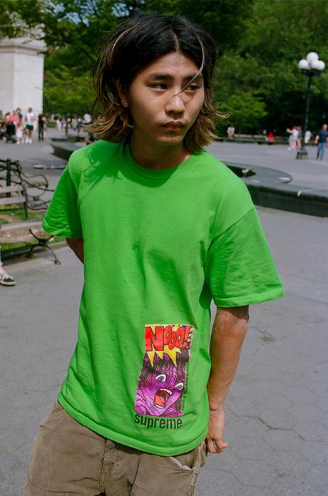 Supreme livre sa nouvelle collection de tee-shirts