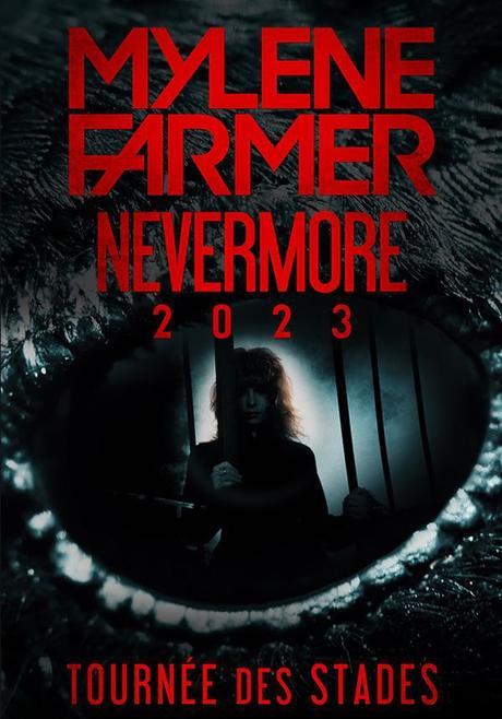 Mylène Farmer - Nevermore 2023 - Tournée des stades - Dates & Billeterie