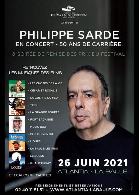 Concert hommage Philippe Sarde & Soirée de remise des prix du Festival de La Baule