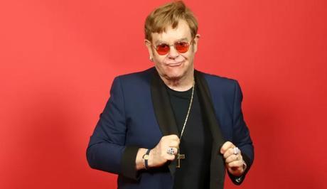 Elton John aux iHeartRadio Music Awards 2021 en Californie, le 27 mai 2021.  (PHILLIP FARAONE / GETTY IMAGES NORTH AMERICA)