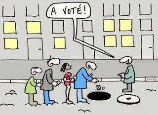 Elections : la grève du vote ne fait que commencer !