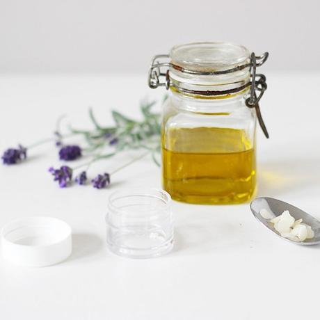 baume huile végétale lavande recette maison