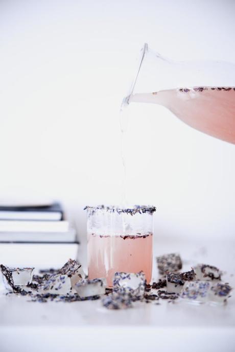 recette facile lavande violet infusion glacée déco fleurs séchées blog déco