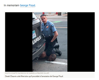 le meurtre de George Floyd par Derek Chauvin n'est pas resté impuni #BLM #violencespolicieres