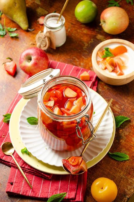 idée recette agrémenter yaourt nature - blog cuisine