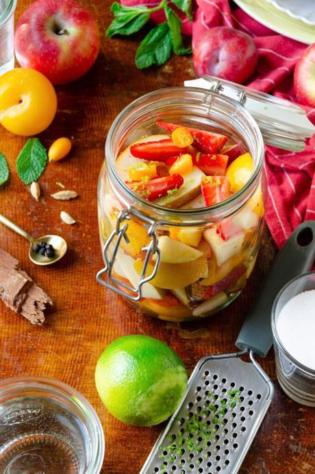 comment faire des pickles sucres
