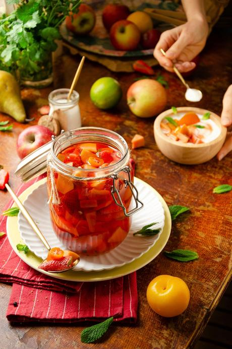 comment faire des pickles de fruit