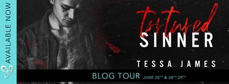 Blog Tour – Tortured Sinner by Tessa James