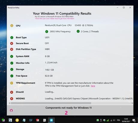 ReadySunValley - prêt pour installer Windows 11 ?