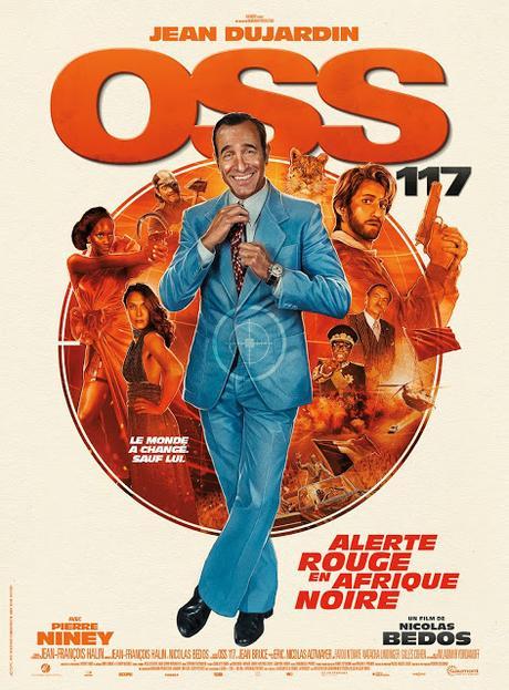 Bande annonce pour OSS 117 : Alerte Rouge en Afrique Noire de Nicolas Bedos
