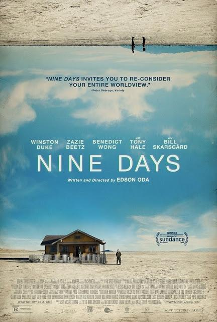 Nouvelle affiche US pour Nine Days signé Edson Oda