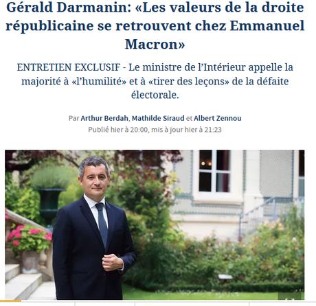 Macron. Il se rêvait moderne. Il n'est plus que terriblement conservateur