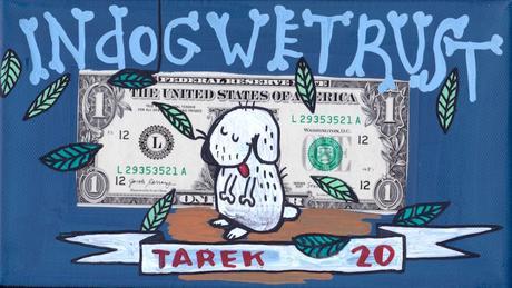 Pop art dollar