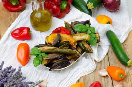 Escalivade de légumes
