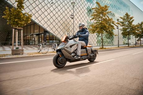 BMW présente son scooter électrique au design futuriste