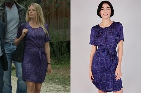 UN SI GRAND SOLEIL : la robe bleue de Johanna dans l'épisode 684