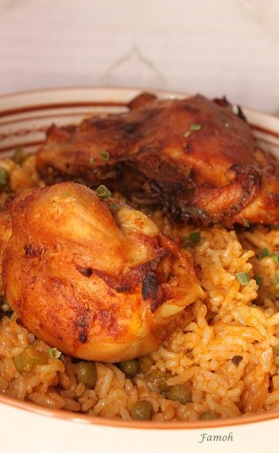 Sauté de poulet riz cookeo