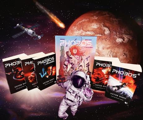 Phobos (BD), Tome 1 : L'envol des éphémères – Victor Dixen / Francisco Eduardo
