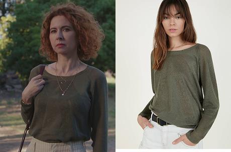 DEMAIN NOUS APPARTIENT : la chemise verte de Juliette dans l'épisode 961