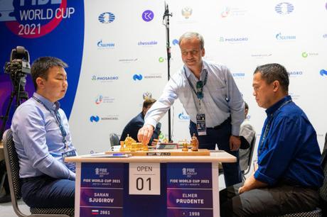 Coupe du monde d'échecs avec MVL, Firouzja, Bacrot, Sebag, Skripchenko et Guichard