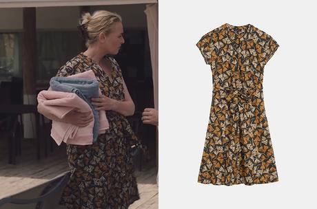ICI TOUT COMMENCE : la robe imprimée de Sylvie dans l'épisode 183