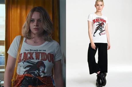 BIOHACKERS : Mia's Black Widow t-shirt in S2E01