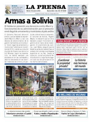 Affaire bolivienne: le gouvernement porte plainte contre Macri et trois de ses ministres [Actu]