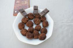 recette du jour: Truffes au chocolat  au thermomix de Vorwerk