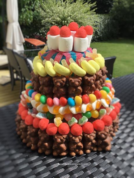 Gâteau bonbons anniversaire