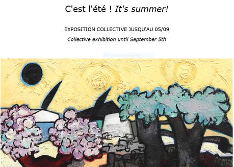 Galerie Estades Paris // C'est l'été ! It's Summer !