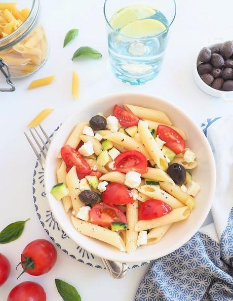 Salade de pâtes à la grecque