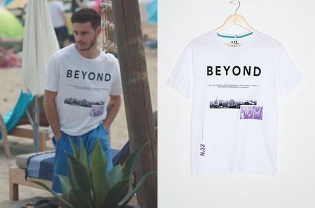 """DEMAIN NOUS APPARTIENT : le t-shirt """"beyond"""" de Nathan dans l'épisode 972"""