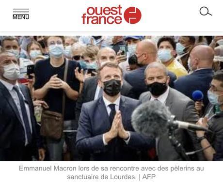 Macron, vulgaire militant identitaire #Laïcite