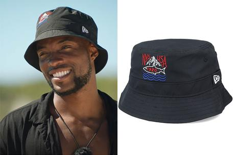 TOO HOT TO HANDLE : Marvin's black bucket hat in S2E7