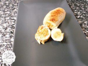 Rouleaux de poulet farcis au chorizo